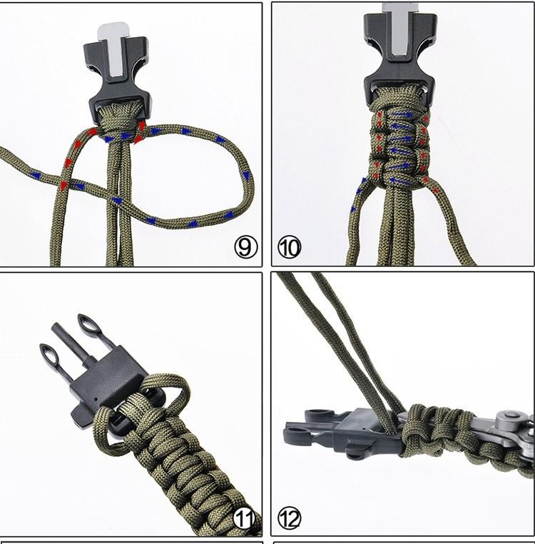 Paracord knitting -3